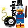 LEGO 71024 MINIFIGURES DISNEY 2 SKNERUS MC'KWACZ