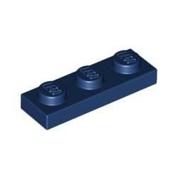 KLOCEK LEGO PLATE 1x3 DARK BLUE - 3623