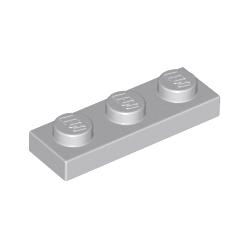 KLOCEK LEGO PLATE 1x3 LIGHT BLUISH GRAY - 3623