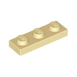 KLOCEK LEGO PLATE 1x3 TAN PIASKOWY - 3623