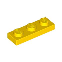KLOCEK LEGO PLATE 1x3 YELLOW ŻÓŁTY - 3623