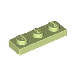 KLOCEK LEGO PLATE 1x3 YELLOWISH GREEN - 3623