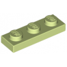 KLOCEK LEGO PLATE 1x3 YELLOWISH GREEN - 3623
