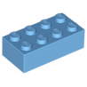 KLOCEK LEGO BRICK 2X4 MEDIUM BLUE - 3001