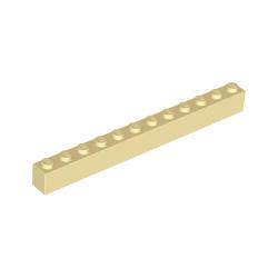 KLOCEK LEGO BRICK 1X12 TAN - 6112