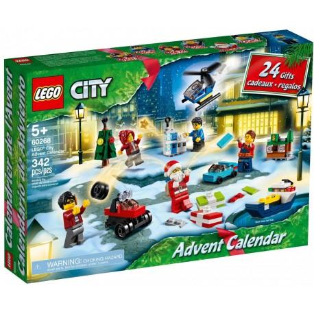 LEGO CITY 60268 KALENDARZ ADWENTOWY 2020