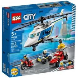 LEGO CITY 60243 POŚCIG HELIKOPTEREM POLICYJNYMEJ