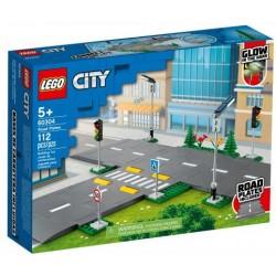 LEGO CITY  60304 PŁYTY DROGOWE ULICA