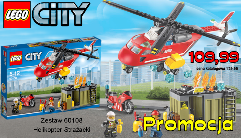 CITY 60108 HELIKOPTER STRAŻACKI