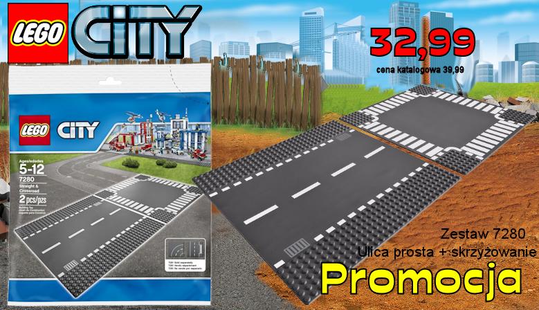 LEGO CITY 7280 Ulica prosta + skrzyżowanie