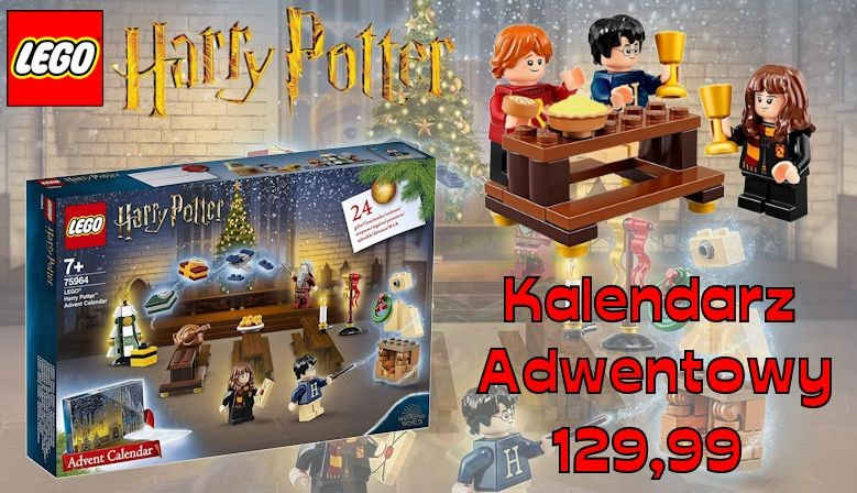 ZESTAW LEGO HARRY POTTER 75964 Kalendarz adwentowy