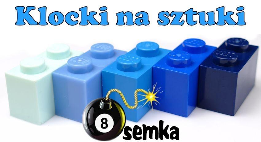 Klocki Lego na sztuki